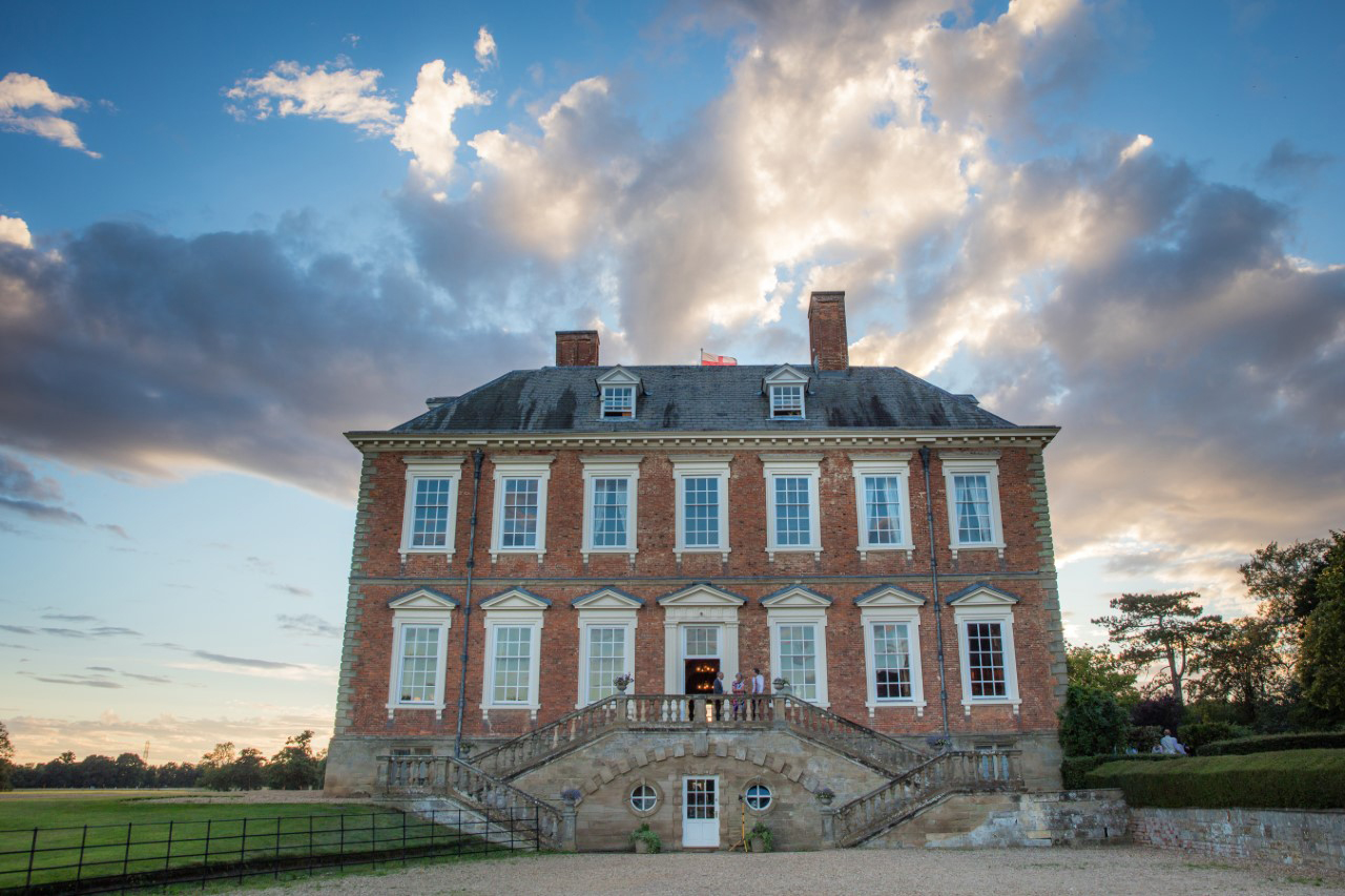 The grand Stanford Hall is a stunning wedding venue in the Harborough district