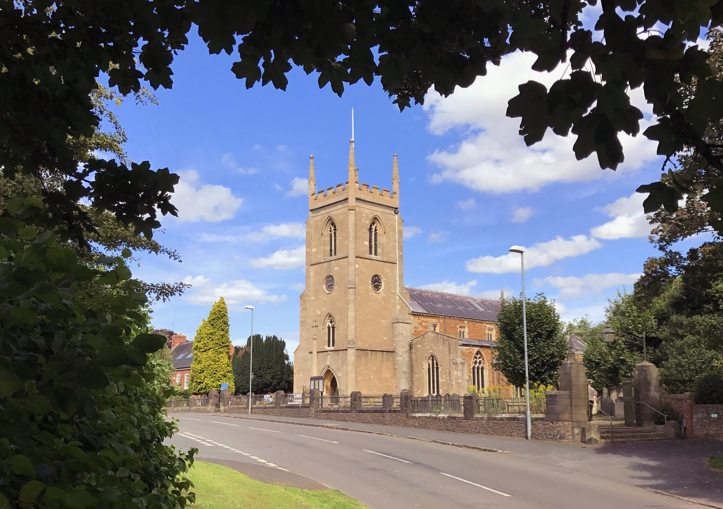 The parish church of the two Kibworth villages